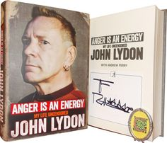 Anger is an Energy: My Life Uncensored by John Lydon - Cole's Books