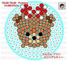 Perler Tsum Tsum Unibearsity