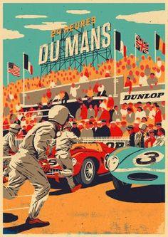 1950 DUNLOP LE MANS