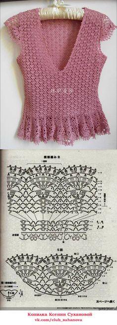 Мои работы. Схема вязания Вязание на заказ, Пермь. Ксения Суханова. Вязание крючком. #вязание #вязаниекрючком #одежда