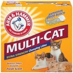 Arm & Hammer Multicat Strength Clumping Litter 2-20 lb.