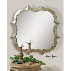"""Uttermost  Farista Wall Mirror 42""""H x42""""W x 1""""D $400"""
