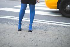 Colorful legs #TrueBlue