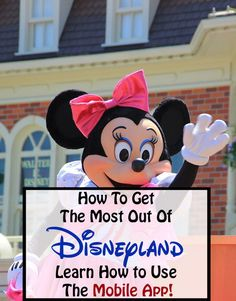 How To Use Disneyland's Mobile App - Disney Tips and Trips - Real Time - Diet, Exercise, Fitness, Finance You for Healthy articles ideas Disney With A Toddler, Baby Disney, Disney Love, Disney Stuff, Punk Disney, Princess Disney, Disneyland Tickets, Disneyland Tips, Vintage Disneyland