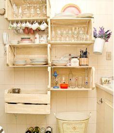 caixotes e seus diversos usos na decoração