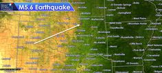 725AM: BREAKING: USGS confirms M5.6 #Earthquake north of Stillwater, OK. http://texasstormchasers.com/?p=47492