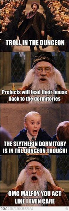 Omigosh i totally didn't think. About the fact that the slytherin dormitories were in the dungeon when i saw this...
