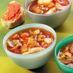 Vissoep recept - Mediterrane vissoep met rouille - okoko recepten