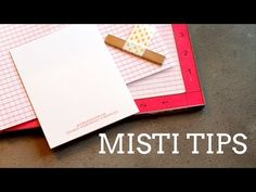MISTI Tips + Giveaway! - Jennifer McGuire Ink