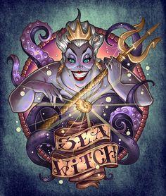 Diamond Painting Ursula The Sea Witch Kit - Wix Website Ideas - DIY your own website with Wix. - Diamond Painting Ursula The Sea Witch Kit Disney Magic, Disney Pixar, Disney Merch, Dark Disney, Disney And Dreamworks, Disney Love, Disney Art, Disney Villains Art, Disney Villian