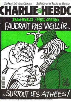 Charlie Hebdo - # 292 - 21 Janvier 1998 - Couverture : Gébé
