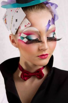 Face paint mad hatter                                                                                                                                                                                 Mehr
