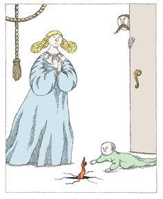 Edward Gorey «Three Classic Children's Stories» | Rumpelstiltskin
