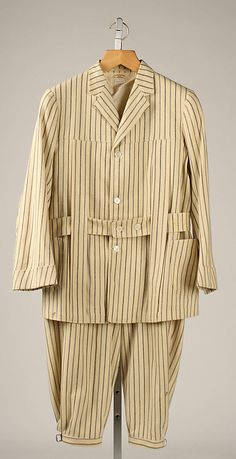 Norfolk suit L. P. Hollander & Co., Boston Date: 1907 Culture: American Medium: wool Accession Number: 1992.9.3a, b