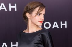 Side-Twist Chignon: A little hairline twist added to a classic low bun like Emma Watson's works well with shorter to medium-length hair, too.