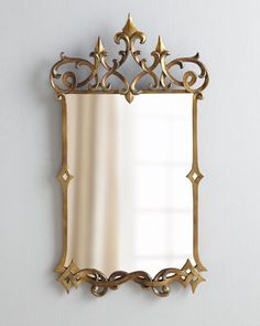 "Wall Mirrors, Decorative Mirrors & Floor Mirrors | Horchow 21""W x 1""D x 37""T, 300 (sale)"