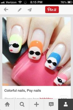 Bathing beauty nails