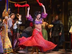 Disney's Hunchback of Notre Dame to Receive New Outdoor Production The musical drama heads to Utah's Tuacahn Amphitheater. Broadway Costumes, Disney Costumes, Broadway Theatre, Musical Theatre, Esmerelda Costume, Notre Dame Musical, Bells Of Notre Dame, Notre Dame Disney, Costumes Couture