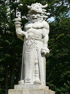 Radegast - Slavic Pagan God, Moravia, Czechia