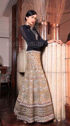 EKRU by Ekta and Ruchira bridal collection - wedding dress collection - 1326 | MyShaadi.in