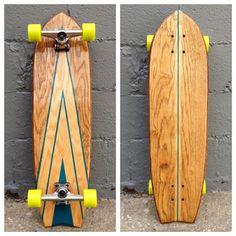 Longboard Skateboards by Salemtown Board Co.