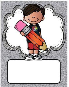 Gelişim Dosyası İçin Kapaklar (Yazısız) - Okul Öncesi Etkinlik Faliyetleri - Madamteacher.com