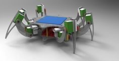 Picture of How to build a wireless hexapod robot
