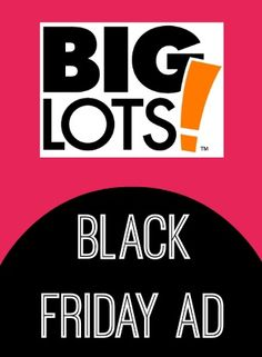 Big Lots Black Friday Ad 2013
