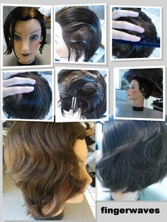 """1. Apply strong gel throughout hair   2.Create side part  3. On the side you start on, comb the hair into a """"c"""" shaped oblong  Step 4. Use your comb and fingers to create and hold a ridge at the curve of the """"c"""" shape.  Step 5. Comb another """"c"""" shape in the opposite direction of the previous one.  Step 6. Repeat  Step 7. Dry  You can also choose to comb out the style once dry for a more subtle look, or keep it dry for a more wet styled look  By Jerrad D"""