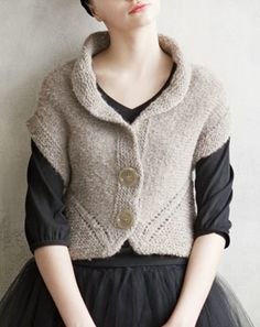 Japanese knitting pattern...love it.
