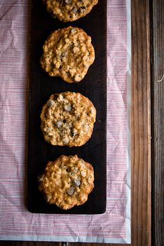 Desserts for Breakfast: Oatmeal Walnut Chocolate Chip Cookies, and Exciting Food-Bloggery News