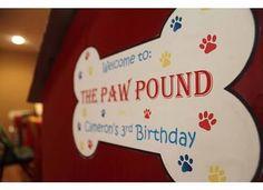 Paw Patrol Birthday | http://CatchMyParty.com