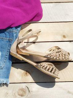 Summer Gem Peep Toe Sandal