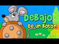 Debajo un botón canción infantil subtitulada - YouTube