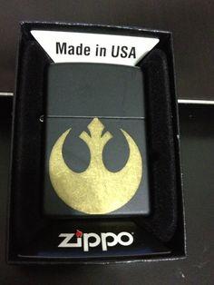 Star Wars Rebel Zippo on Etsy, $40.00
