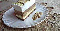 Mennyei Isteni szelet recept! Nem csak a neve csalogató, de az íze igazán isteni. Hungarian Cake, Hungarian Recipes, Czech Desserts, Phyllo Dough, Cake Bars, Pastry Cake, Eclairs, 20 Min, Vanilla Cake