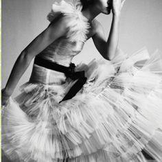 Tutu + black & white = love