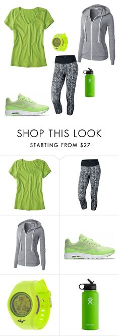"""""""Sin título #299"""" by megamtzbqro on Polyvore featuring moda, Horny Toad, NIKE, Everlast y Hydro Flask"""
