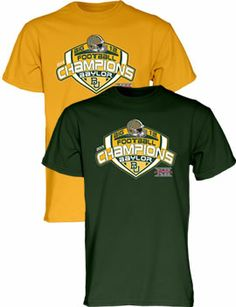 Official #Baylor - 2013 Big 12 Football Champions Locker Room T-Shirt ($22 from Baylor Bookstore) #Big12Champs