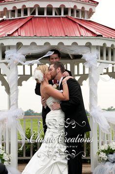 Wedding Rose Center has a gazebo, consider decorating it