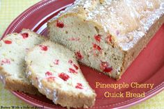 There is nothing better than a loaf of freshly baked bread, especially bread that doesn't require any rising time! This Pineapple Cherry Quick Bread is easy to make and my kids loved it as an after-school snack. Mazola sent me some Mazola Corn Oil to try as a heart-healthy alternative to other types of oil …