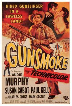 Gunsmoke with Audie Murphy 1953