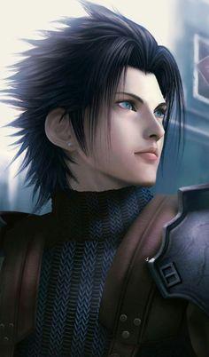 Final Fantasy Cloud, Final Fantasy Vii Remake, Final Fantasy Crisis Core, Final Fantasy Artwork, Final Fantasy Characters, Fantasy Series, Zack Fair, Final Fantasy Collection, Jon Snow