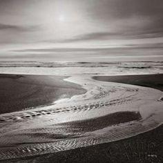 Sunset on the Coast I Canvas Art - Alan Majchrowicz (24 x 24)