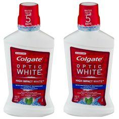 Consigue en CVS los Colgate Optic White High Impact Rinse de 16 oz a $5.69 regularmente. Cuando compras $10 en estos productos recibes $5 ...