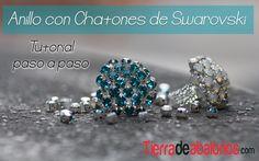 Aprende como hacer estos preciosos anillos con Cristal Swarovski con Rocallas de Miyuki. Te lo explicamos paso a paso. No te pierdas este tutorial. Materiale...
