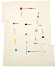 Carmelo Arden-Quin 'Lignes et points' 1950