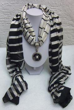 Medaillons - Nespresso-Collier oder Schal-Anhänger - ein Designerstück von schmuckkreation-petra bei DaWanda