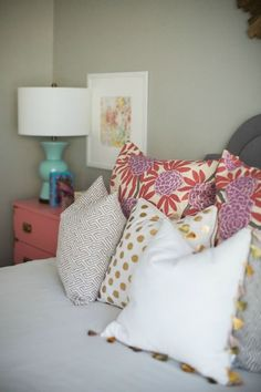 Berry Fleur Chinoise in Darling Teen Room (via Bloglovin.com )