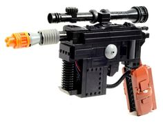 This full-size Lego replica of Han Solo's iconic blaster is complete with lights and sounds http://cnet.co/1tjcS1l
